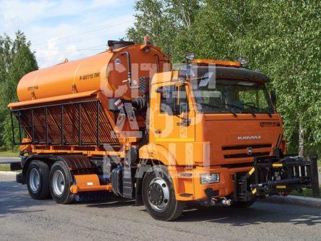 Покупайте КДМ на базе КамАЗ 65115 и другие модели на шасси КамАЗ, МАЗ, УРАЛ по выгодной цене в СПЕЦДОРМАШ!