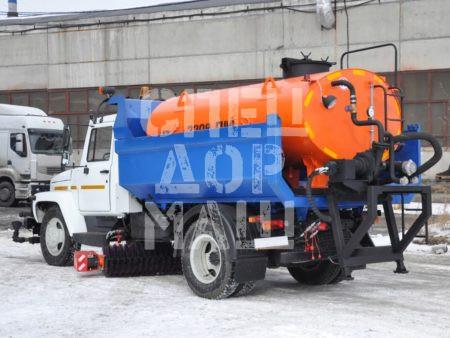Покупайте КДМ на базе самосвала ГАЗ 3309 и другие модели на шасси КамАЗ, МАЗ, УРАЛ по выгодной цене в СПЕЦДОРМАШ!