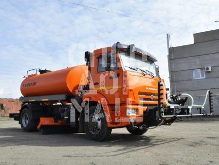 Покупайте КДМ на базе КамАЗ 43253 и другие модели на шасси КамАЗ, МАЗ, УРАЛ по выгодной цене в СПЕЦДОРМАШ!