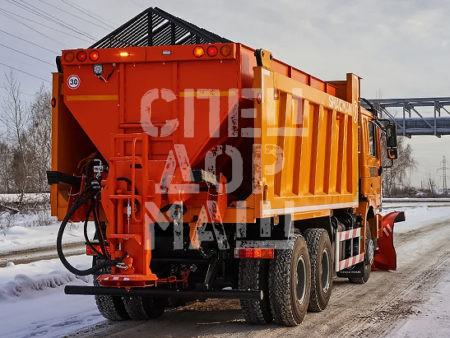 Покупайте Пескоразбрасыватель КДМ и другое навесное оборудование для КДМ по выгодной цене в СПЕЦДОРМАШ!