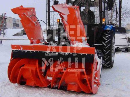Покупайте Фрезерно-роторный cнегоочиститель СУ 2.1 и другое оборудование для уборки снега по выгодной цене в СПЕЦДОРМАШ!