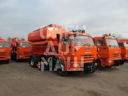 Покупайте КДМ на базе КамАЗ ЭД-244К и другие модели на шасси КамАЗ, МАЗ, УРАЛ по выгодной цене в СПЕЦДОРМАШ!