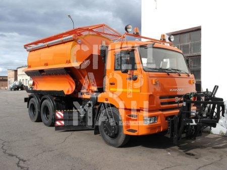 Покупайте КДМ на базе КамАЗ ЭД-405 и другие модели на шасси КамАЗ, МАЗ, УРАЛ по выгодной цене в СПЕЦДОРМАШ!