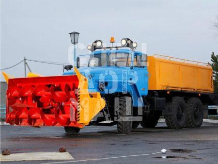 Покупайте Шнекороторный снегоочиститель УРАЛ АМКОДОР 9531-03 и другое оборудование для уборки снега по выгодной цене в СПЕЦДОРМАШ!
