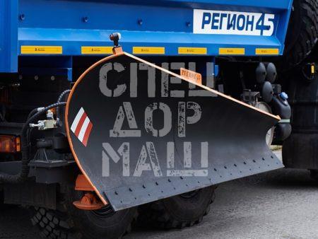 Покупайте Боковой отвал для КДМ и другое навесное оборудование для КДМ по выгодной цене в СПЕЦДОРМАШ!