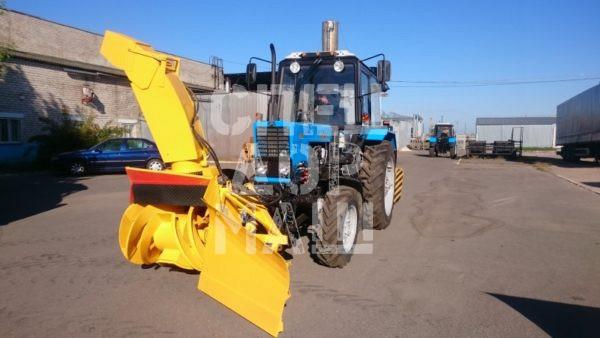 Покупайте Фрезерно-роторный снегоочиститель ДЭМ 124 и другое оборудование для уборки снега по выгодной цене в СПЕЦДОРМАШ!