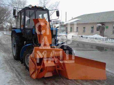 Покупайте Фрезерно-роторный снегоочиститель СУ 2.1 ОМ и другое оборудование для уборки снега по выгодной цене в СПЕЦДОРМАШ!