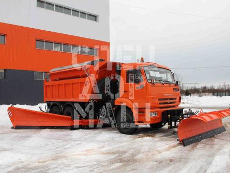 Покупайте МКДУ-1 на базе самосвала КамАЗ 65115 и другие модели на шасси КамАЗ, МАЗ, УРАЛ по выгодной цене в СПЕЦДОРМАШ!