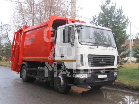 Покупайте Мусоровоз МАЗ с задней загрузкой КО-427-73 и другие модели на шасси КамАЗ, ГАЗ, МАЗ, HYUNDAI, Dongfeng по выгодной цене в СПЕЦДОРМАШ!