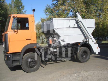 Покупайте Мусоровоз МАЗ контейнерный КО-450-08 и другие модели на шасси КамАЗ, ГАЗ, МАЗ, HYUNDAI, Dongfeng по выгодной цене в СПЕЦДОРМАШ!