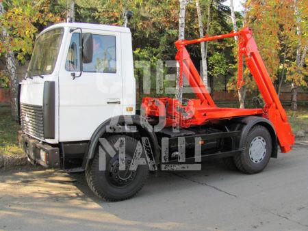 Покупайте Мусоровоз МАЗ контейнерный КО-450-10 и другие модели на шасси КамАЗ, ГАЗ, МАЗ, HYUNDAI, Dongfeng по выгодной цене в СПЕЦДОРМАШ!