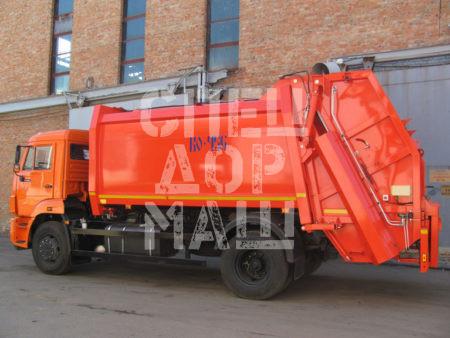 Покупайте Мусоровоз КамАЗ с задней загрузкой КО-456-20 и другие модели на шасси КамАЗ, ГАЗ, МАЗ, HYUNDAI, Dongfeng по выгодной цене в СПЕЦДОРМАШ!