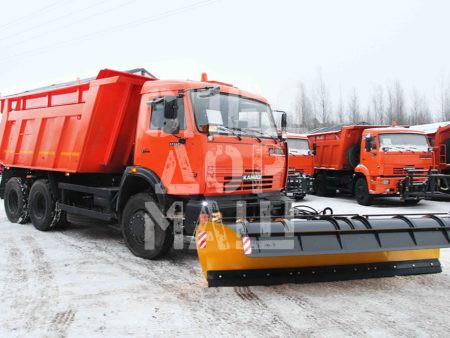 Покупайте МКДУ-2 на базе самосвала КамАЗ 65115 и другие модели на шасси КамАЗ, МАЗ, УРАЛ по выгодной цене в СПЕЦДОРМАШ!