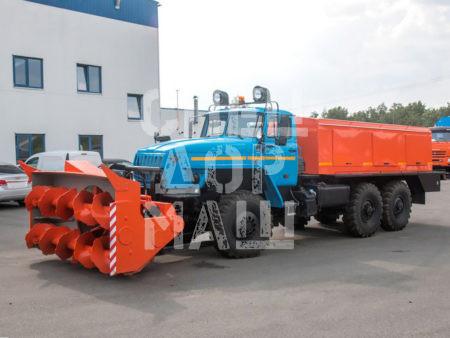 Покупайте Шнекороторный снегоочиститель УРАЛ ДЭ-226 и другое оборудование для уборки снега по выгодной цене в СПЕЦДОРМАШ!