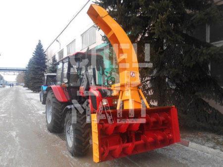 Покупайте Шнекороторный снегоочиститель ФРС-200М ГР с гидравлическим поворотом желоба и другое оборудование для уборки снега по выгодной цене в СПЕЦДОРМАШ!
