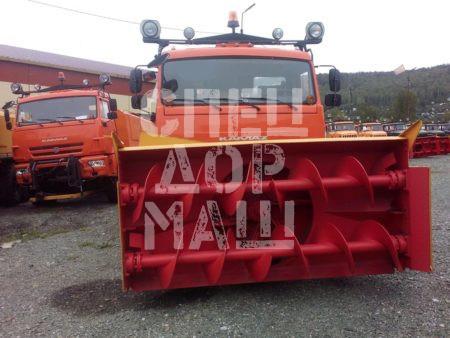 Покупайте Шнекороторный снегоочиститель КамАЗ СШР-1 003-СА-02 и другое оборудование для уборки снега по выгодной цене в СПЕЦДОРМАШ!