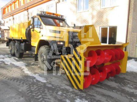 Покупайте Шнекороторный снегоочиститель УРАЛ-NEXT СШР-1 001-СА и другое оборудование для уборки снега по выгодной цене в СПЕЦДОРМАШ!