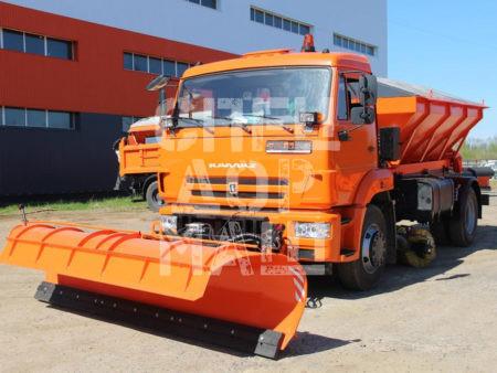Покупайте МКДУ-6 на базе КамАЗ 43255/43253 и другие модели на шасси КамАЗ, МАЗ, УРАЛ по выгодной цене в СПЕЦДОРМАШ!