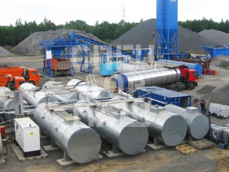 Покупайте Завод по производству битумной эмульсии и другое оборудование для производства ПБВ и битумных эмульсий по выгодной цене в СПЕЦДОРМАШ!