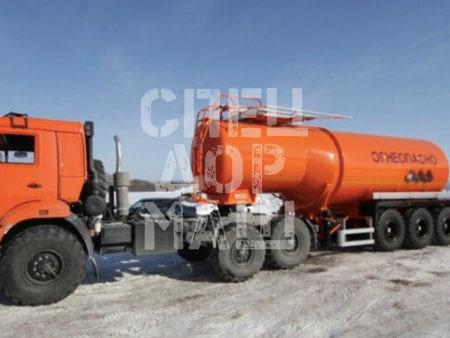 Покупайте Битумовоз SF3B28 внедорожник и другое прицепное оборудование по выгодной цене в СПЕЦДОРМАШ!