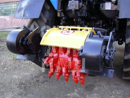 Покупайте Фреза механическая ДЭМ-121 и другое навесное оборудование для МТЗ по выгодной цене в СПЕЦДОРМАШ!