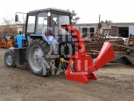 Покупайте Измельчитель веток ЕМ 160 с гидравлической подачей и другое навесное оборудование для МТЗ по выгодной цене в СПЕЦДОРМАШ!