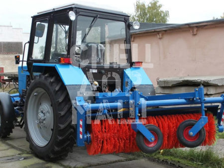 Покупайте Щетка коммунальная МК-4 (МК-454) и другое навесное оборудование для МТЗ по выгодной цене в СПЕЦДОРМАШ!