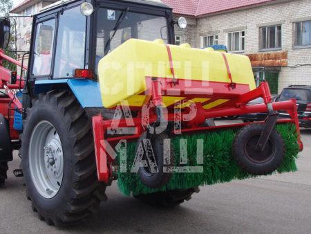 Покупайте Оборудование щеточное УМДУ-80 / 82.02 ЛЮКС ПМ и другое навесное оборудование для МТЗ по выгодной цене в СПЕЦДОРМАШ!