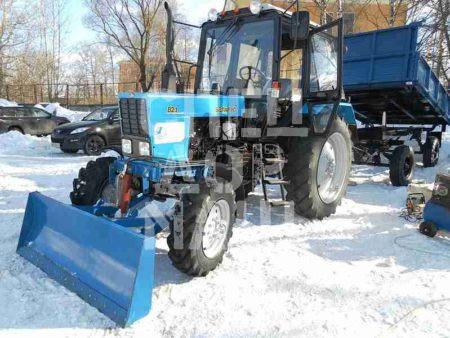 Покупайте Отвал бульдозерный ОБ-2,0 и другое навесное оборудование для МТЗ по выгодной цене в СПЕЦДОРМАШ!