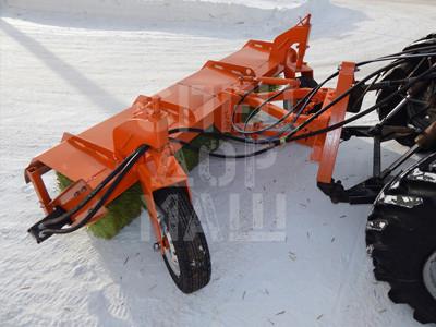 Покупайте Передняя щетка поворотная ЩФ 2.5 и другое навесное оборудование для МТЗ по выгодной цене в СПЕЦДОРМАШ!