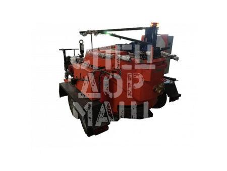 Покупайте Плавильно-заливочная установка прицепная электрическая с двумя удочками и другое оборудование для отсыпки и укладки обочин по выгодной цене в СПЕЦДОРМАШ!