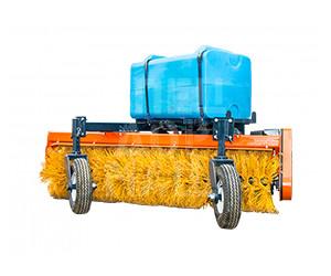 Покупайте Щетка коммунальная механическая и другое навесное оборудование для МТЗ по выгодной цене в СПЕЦДОРМАШ!