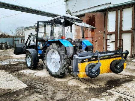 Покупайте Щетка коммунальная МК-4.1 и другое навесное оборудование для МТЗ по выгодной цене в СПЕЦДОРМАШ!