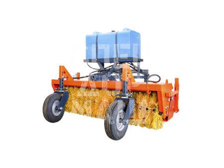 Покупайте Щетка коммунальная с гидроприводом и другое навесное оборудование для МТЗ по выгодной цене в СПЕЦДОРМАШ!