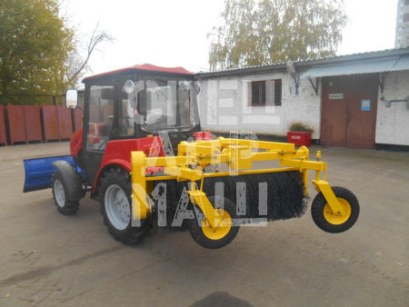 Покупайте Щетка коммунальная ЩН-1,5 и другое навесное оборудование для МТЗ по выгодной цене в СПЕЦДОРМАШ!