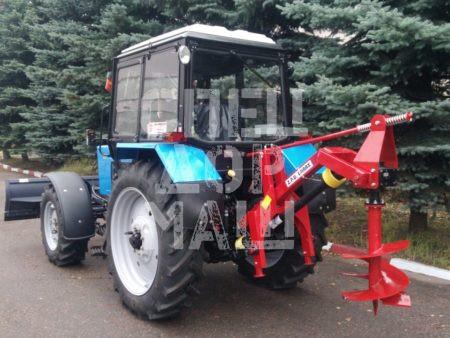 Покупайте Ямобур WIRAX WR25/50 и другое навесное оборудование для МТЗ по выгодной цене в СПЕЦДОРМАШ!