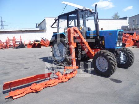 Покупайте Косилка роторная КОР-16 и другое навесное оборудование для МТЗ по выгодной цене в СПЕЦДОРМАШ!
